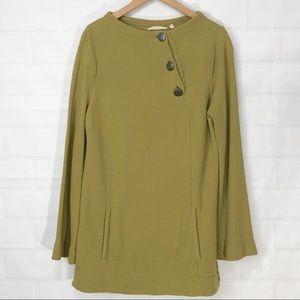 Soft surroundings Green Pocket Tunic Medium